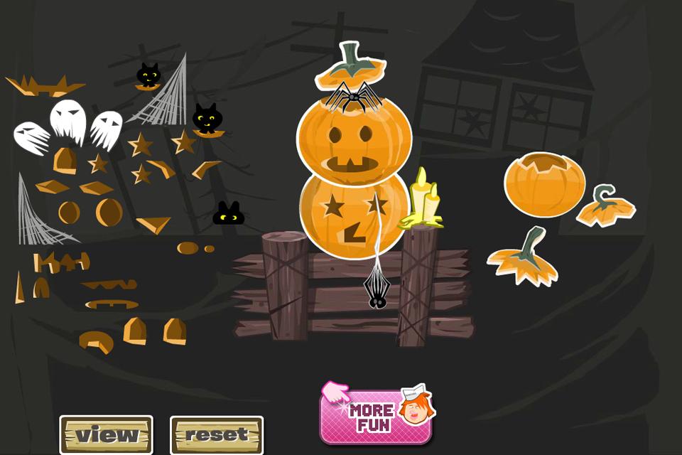 Screenshot Jack O Lantern Designer